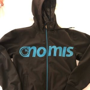 NOMIS snowboard jacket medium black